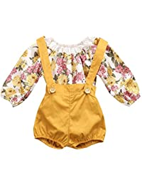 1acd5800b Amazon.com  Yellows - Footies   Rompers   Clothing  Clothing
