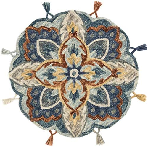 Loloi Remy Collection Round Accent Wool Area Rug