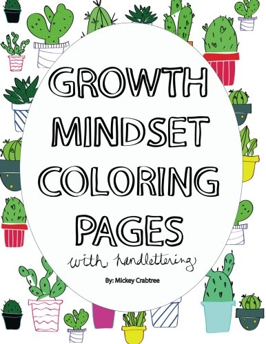 Growth Mindset Coloring Book