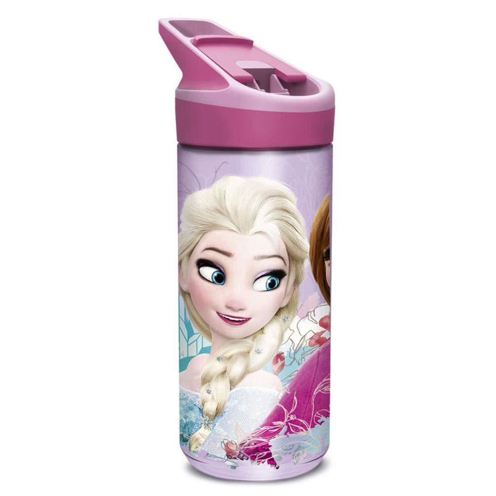 Mehrfarbig Disney Frozen Flasche Kunststoff Tritan Premium mittlere 620/ml Floral
