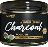 Image of Activated Charcoal Teeth Whitening Powder – Organic Coconut Active Charcoal Tooth Whitener Will Wow You. Use Like Toothpaste & Skip the Strips, Kits and Gel!