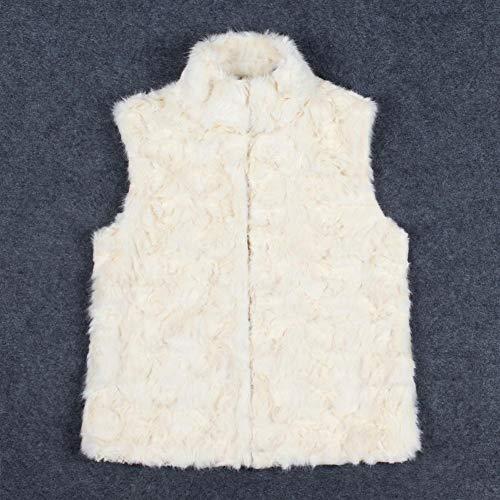 En Gilet Veste À Des manteau Femmes Fourrure Fausse veste Synthétique La Manteau Mode Shaggy Hiver De Alian Femmes I7qFwfxdq