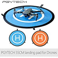 PGYTECH 55CM Fast-fold landing pad Mavic pro and Spark helipad RC Drone gimbal Quadcopter parts Accessories