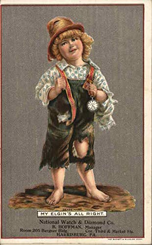 Vintage Advertising Postcard: National Watch & Diamond Company Harrisburg, Pennsylvania from CardCow Vintage Postcards