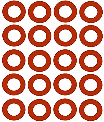 Pack of 100 3.5 ID Pressure Class 150# Sterling Seal CRG7237.300.062.150X100 7237 Red Rubber Ring Gasket 1//16 Thick 3 Pipe Size