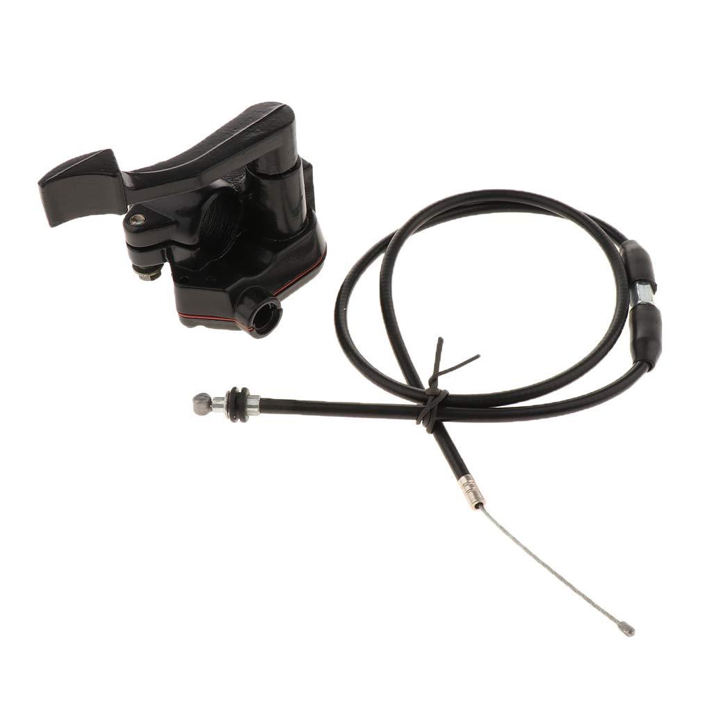 7//8-inch 22mm Thumb Acceleratore del Cavo Acceleratore di Controllo per Kazuma Sunl 50 70 90 110 125cc ATV Quad