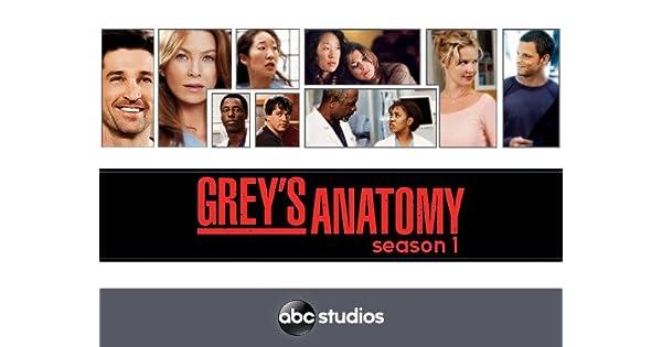Amazon Watch Greys Anatomy Season 1 Prime Video