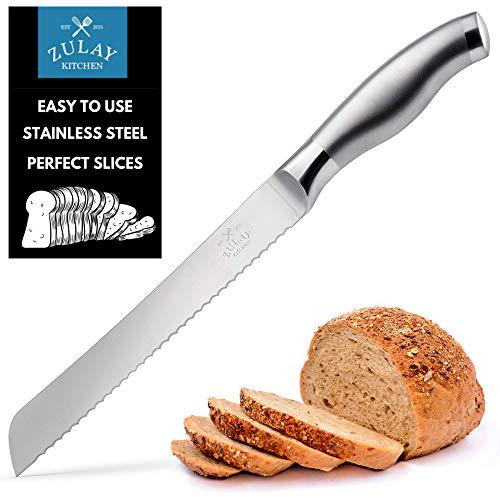 Zulay Serrated Bread Knife 8 inch