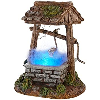 department 56 halloween seasonal decor accessories for village collections haunted well 276inch