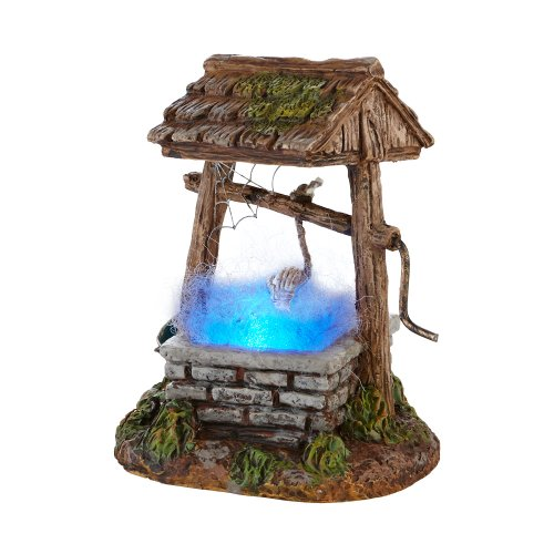 Department 56 Halloween Seasonal Decor Accessories for Village Collections, Haunted Well, 2.76-Inch (Halloween Accessories)