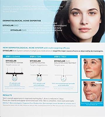 La Roche-Posay Effaclar Dermatological Acne Treatment System, 2-Month Supply