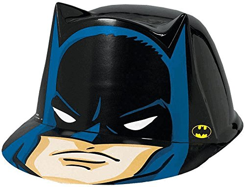 [Amscan AMI 250320 Batman Vac Hat, AMI 250320 1, Multicolored] (Baseball Bat Man Costume)