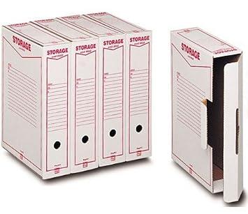 32 cajas archivo cartón Cartas King mec 31809 caja archivo ...