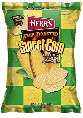 sweet corn potato chips - 1
