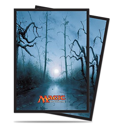 160 Swamp Deck Protectors Sleeves MTG Unhinged Art Black [2-Pack Bundle] by Ultra Pro by ACS Pacific Supply