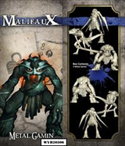 Wyrd Miniatures Malifaux Arcanists Metal Gamin Model Kit (3 Pack)