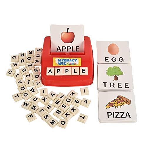 (Literacy Wiz Fun Game - Sight Words - 60 Flash Cards - Preschooler Language Learning Educational Toys)