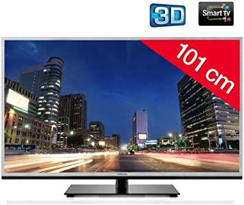 Toshiba televisor LED 3D 40tl933 F HD TV 1080p, 40 Pulgadas (101 cm) 16/9, 200 Hz, DVB-T HD, 3D Ready, Ethernet, HDMI X4, USB 2.0 x2, WiFi Ready + 2 años de garantía: Amazon.es: Electrónica