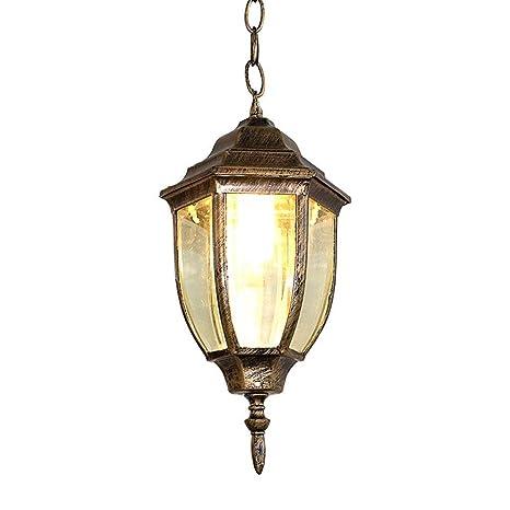 Amazon.com: CGJDZMD Lámpara colgante de metal resistente al ...