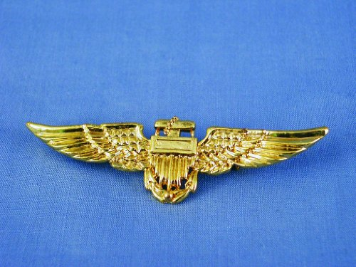 Hms Aviator Pilot Silver Pin Airline Wings Halloween
