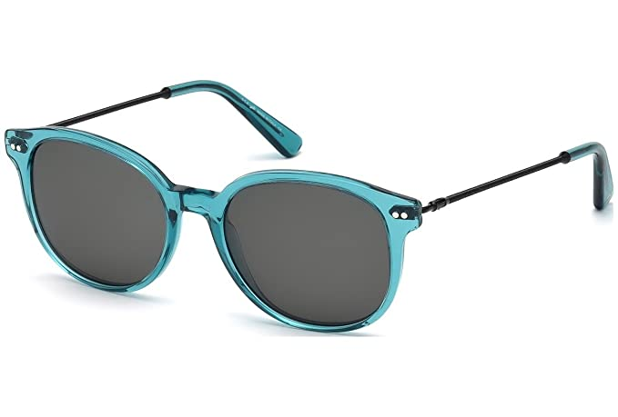 Gafas de sol Web WE0121 C52 87A (shiny turquoise / smoke ...