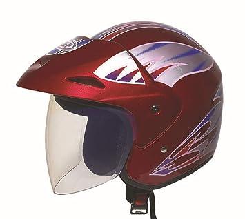 CARWORD Crash Casco Modular Divertidos Paseos Y Regalos Moto Unisex Motocross Cascos con Protección Deportiva Seguridad