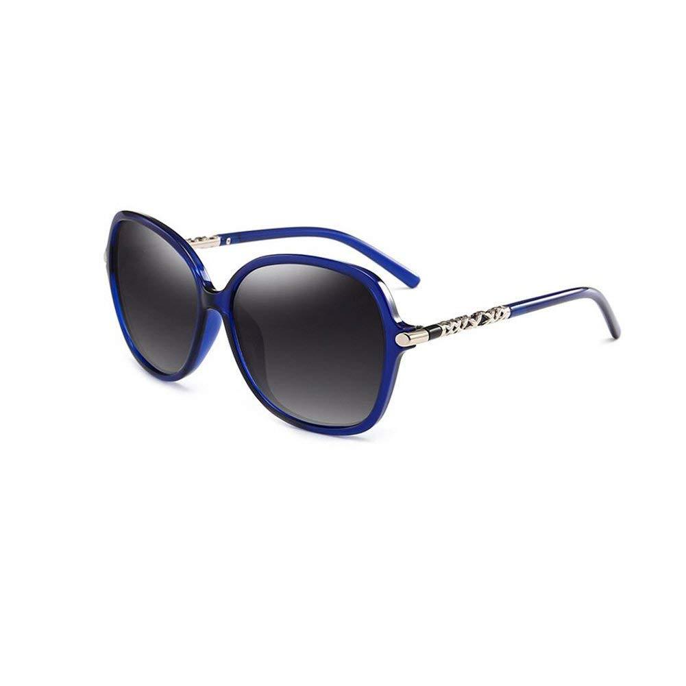 JFFFFWI Gafas de Sol polarizadas Marco Elegante de Gran ...