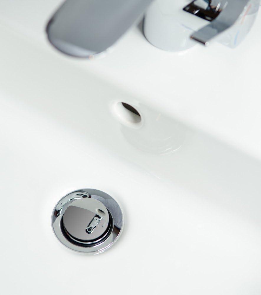 gro/ße Auswahl Peace passend f/ür alle handels/üblichen Waschbecken Sanilo Waschbeckenst/öpsel mit Spr/üchen