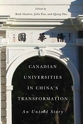 Canadian Universities in China's Transformation: An Untold Story