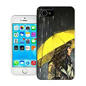 Unique Phone Case The girl creative collage art All Upon the Downtown Train Hard Cover for 4.7 inches iPhone 6 cases-buythecase by lolosakes