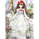 Diary Queen Fortune Days Original Design 18 inch Dolls(with Gift Box), Series 26 Joints Doll, Best Gift for Girls (Snow)