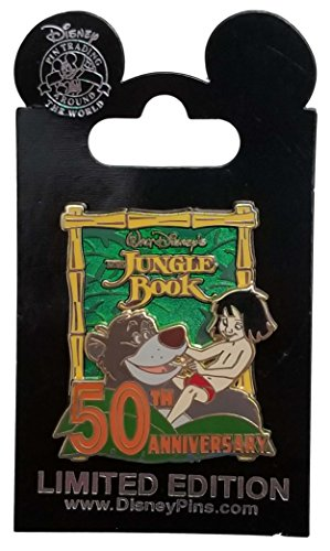 Disney Pin - Jungle Book 50th Anniversary - Mowgli and Baloo
