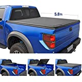 Tyger Auto T3 Tri-Fold Truck Bed Tonneau Cover TG-BC3D1015 works with 2009-2019 Dodge Ram 1500 (2019 Classic ONLY) | Without Ram Box | Fleetside 5.8' Bed