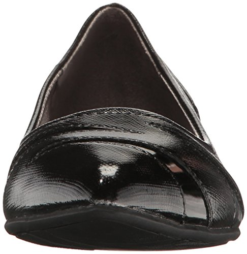 Black Flat Quizzical Women's LifeStride Pointed Toe TgqBXCHwx