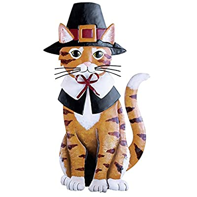 Amazon.com: Thanksgiving Harvest Animal Garden Stakes, Cat: Patio, Lawn U0026  Garden