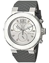 Invicta Women's 'Ocean Reef' Quartz Stainless Steel and Silicone Casual Watch, Color:Grey (Model: 90279)