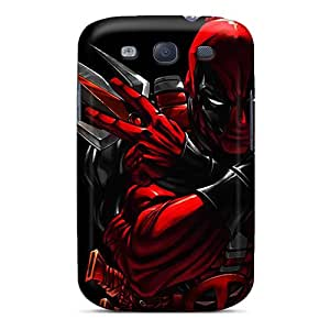 Sihaicovers666 QlO9174BZgc Cases For Galaxy S3 With Nice Deadpool Appearance