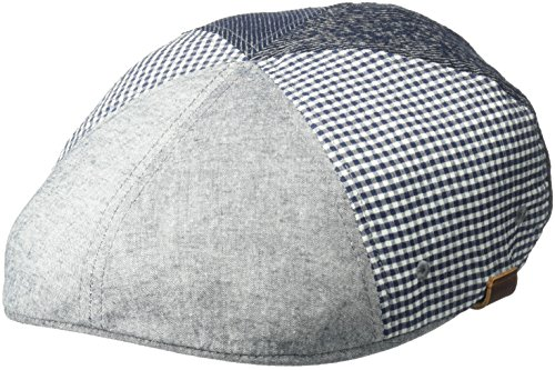 Patchwork Ivy Hat (Kangol Men's Pattern Flexfit 504 Ivy Cap, Patchwork, S/M)
