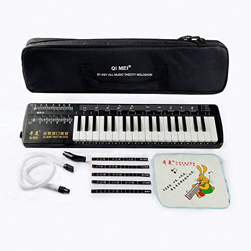 QiMei All Music Theoty Melodion 37 keyboard Professional Melodica Harmonica Playing Musical Instruments by QiMei
