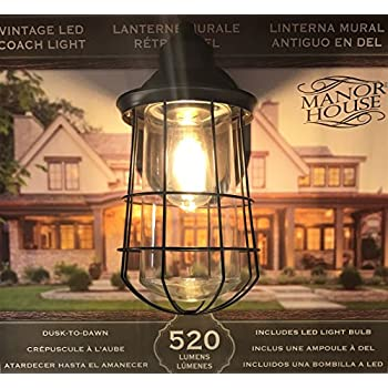 Altair Energy Saving LED Lantern Oil Rubbed Bronze Finish Clear