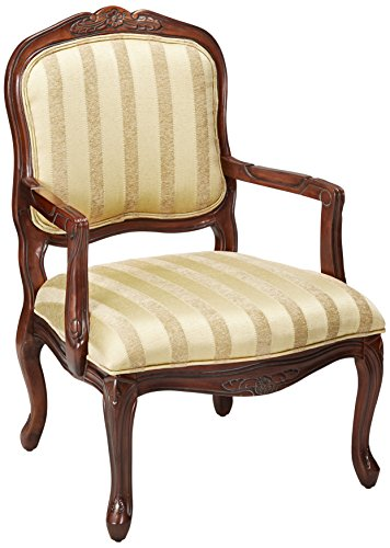 247SHOPATHOME IDF-AC6100 Armchairs, Gold