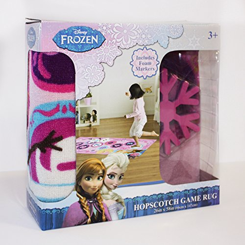 Disney Frozen Hopscotch Toys Rug Anna Olaf Elsa Bedding