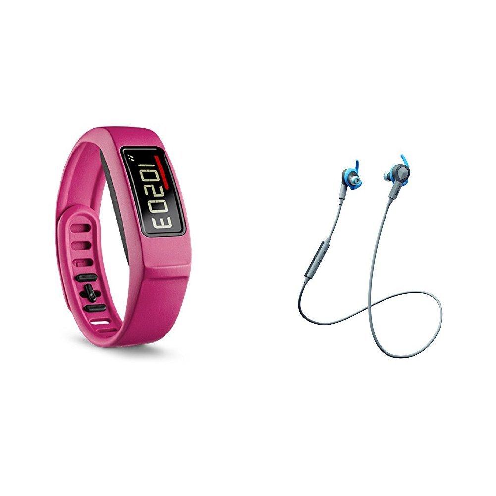 Vivofit 2 with Jabra Bluetooth Headphones