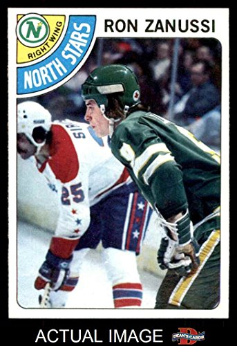 1978-topps-252-ron-zanussi-north-stars-hockey-card-deans-cards-8-nm-mt-north-stars
