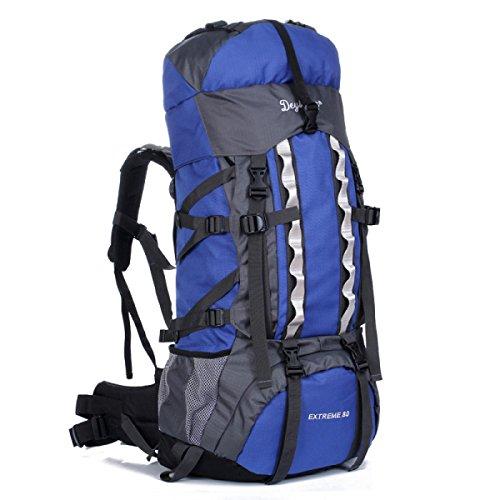 De Gran Capacidad Al Aire Libre Montañismo Senderismo Viajes Bolsas De Hombro Blue