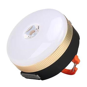 FTYtek Linterna de Camping LED con 4 Modos, Luz Portátil LED para ...