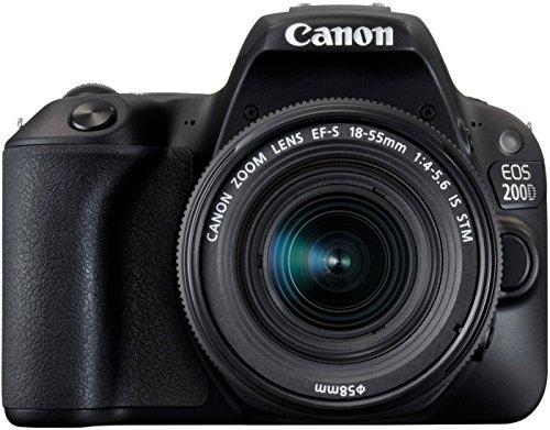 Canon EOS 200D Fotocamera Digitale Reflex con Obiettivo EF-S 18-55mm f/4-5.6 IS STM, Nero 5 spesavip