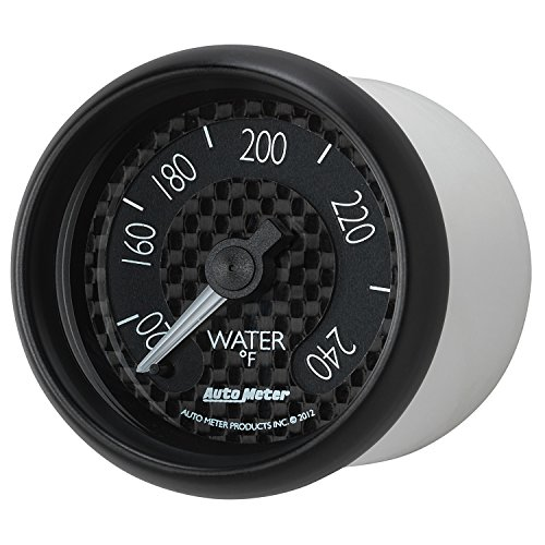 Auto Meter 8032 GT Series Mechanical Water Temperature Gauge by Auto Meter