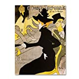This ready to hang, gallery-wrapped art piece features a woman seated at a bar. Henri de Toulouse-Lautrec (24 November, 1864 - 9 September, 1901) was a French painter, and among the most well-known of the post-impressionist period, along with Cezanne...