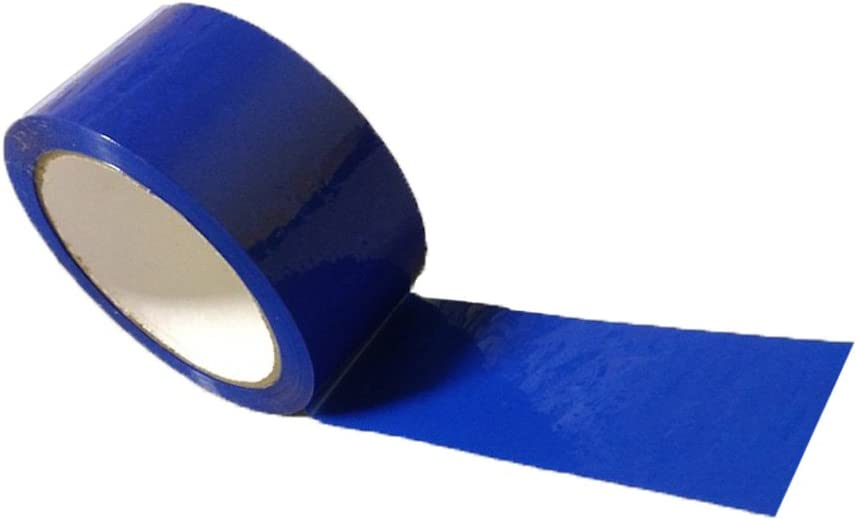 50mmx66m Coloured Adhesive Tape Red with Write-On Surface /& Good Width for Packaging in Office Low Noise Home or Mail Room Good for Marking House Movi 6 x Rolls General Purpose Strong Premium Quality Vinyl Tape Ideal as Parcel or Identification Tape